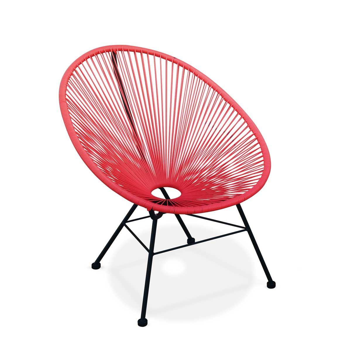 Acapulco egg chair red