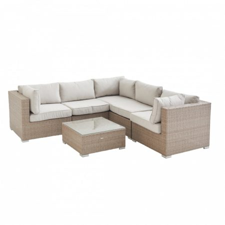 NAPOLI 5 Seater outdoor lounge Natural/Beige